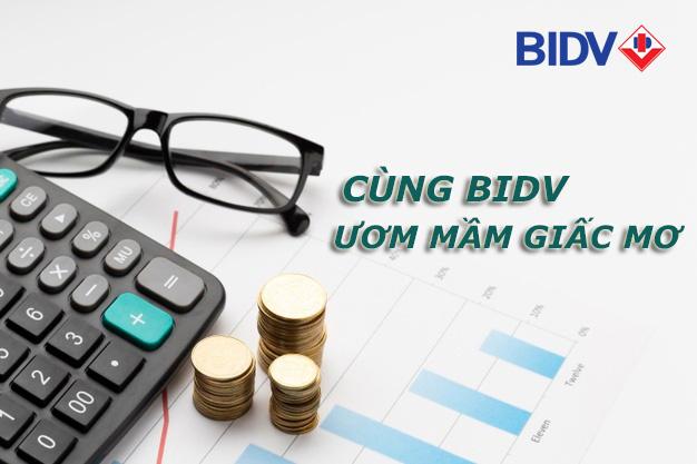 Hướng dẫn vay tiền BIDV tháng 5 2021